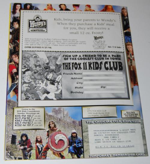 Fox kids magazine 4