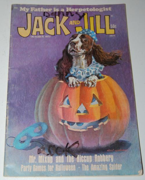 Jack & jill mag oct 1972
