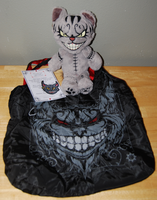 American mcgee alice cheshire cat bag & toy