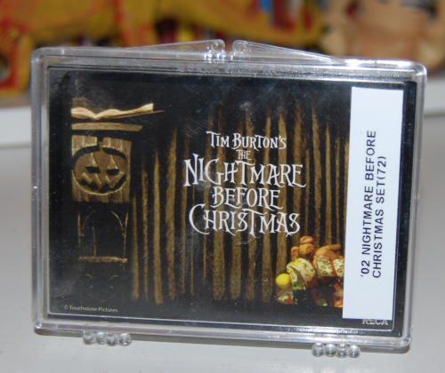 Nightmare before christmas card set