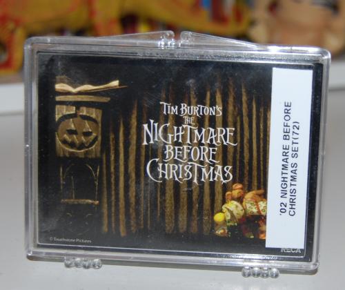 Nightmare before christmas card set