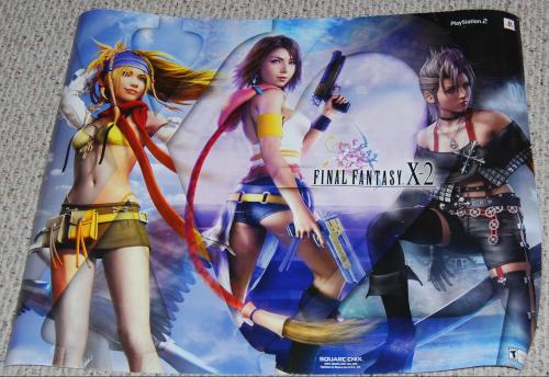Final fantasy ps2 x2 poster