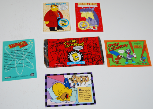 Simpsons cards