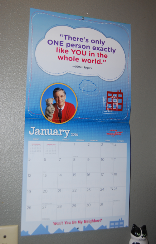 Mr rogers 2020 calendar 2