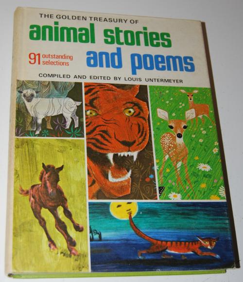 Golden treasury of animal stories