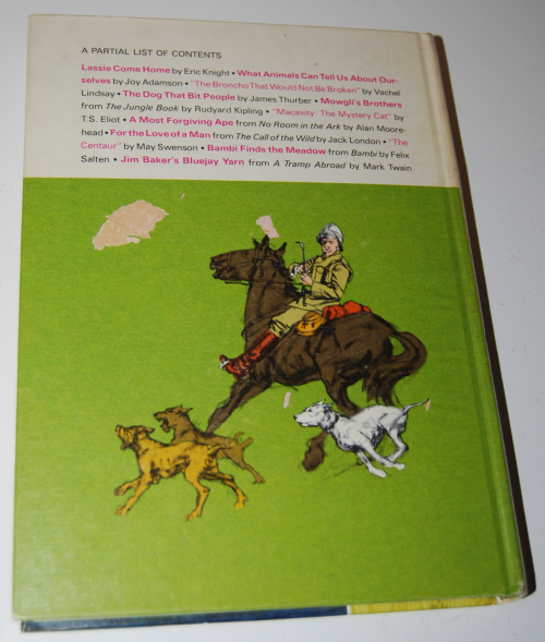 Golden treasury of animal stories x