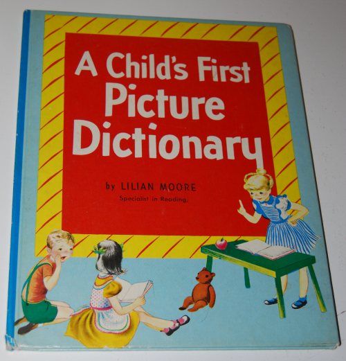 A child's first picture dictionary