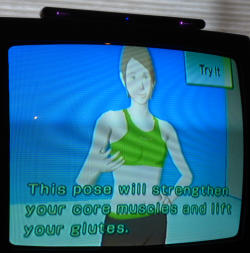 Wii yoga ghost 3
