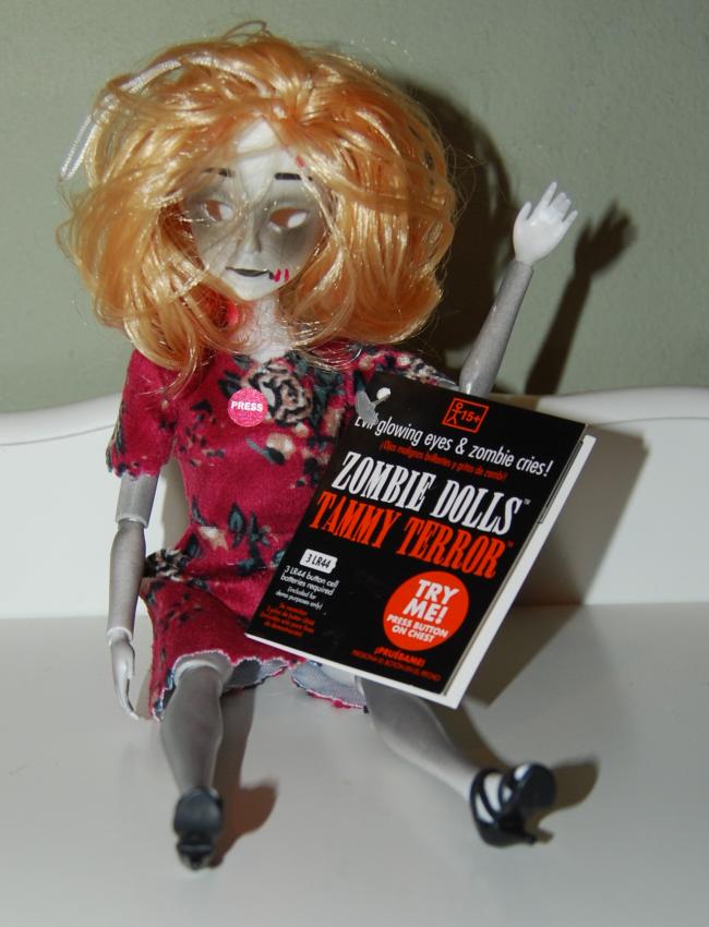 tammy terror zombie doll