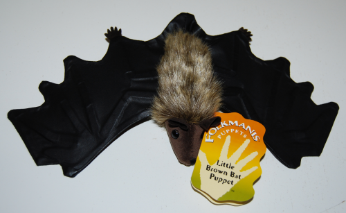 Folkmanis little brown bat puppet
