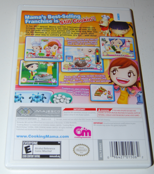 Wii cooking mama x