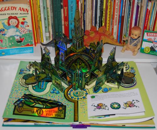 Wonderful wizard of oz popup book 6