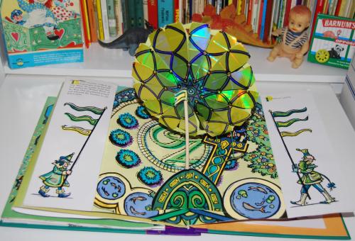 Wonderful wizard of oz popup book 11