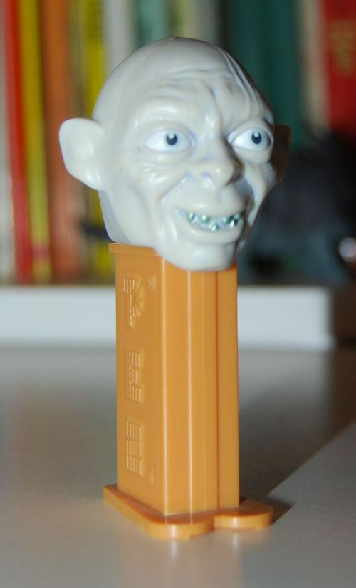 Gollum pez dispenser