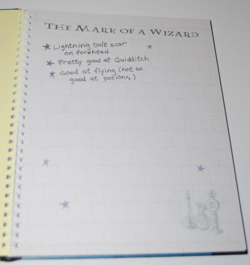 Harry potter hogwarts journal3