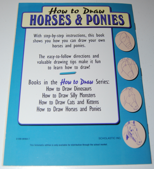 How to draw horses scholastic book x