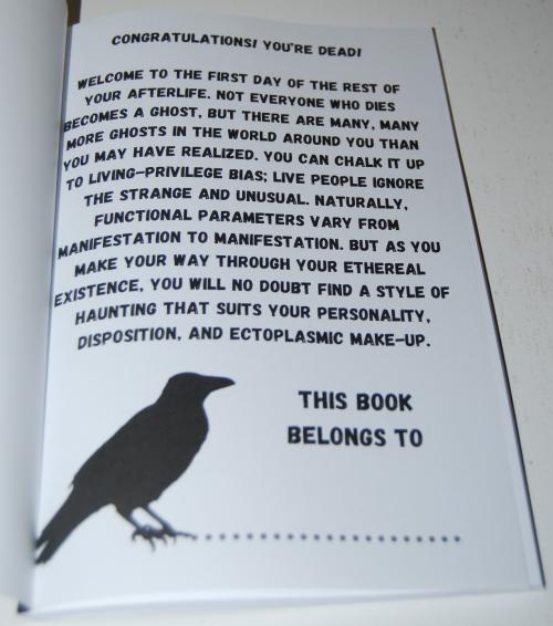 Handbook for the recently deceased 1