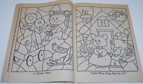 Whitman coloring book let's be friends 5