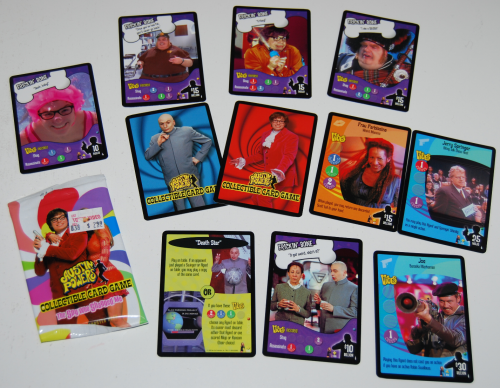 Austin powers cards