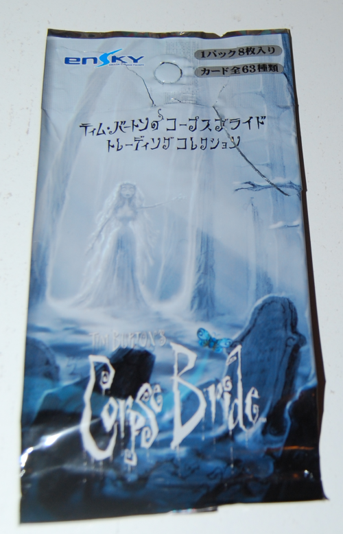 Corpse bride cards