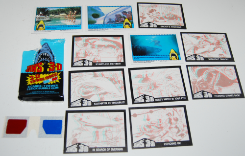 Jaws 3d cards