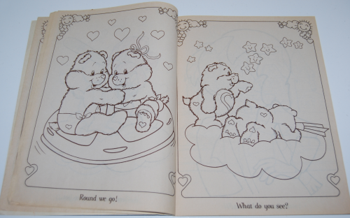 Care bears family coloring book 1