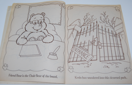 Care bears funtime coloring book 3