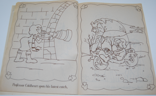 Care bears funtime coloring book 4