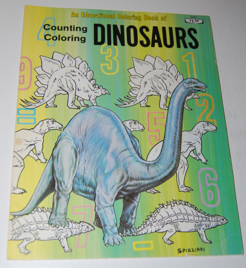 Counting coloring dinosaurs