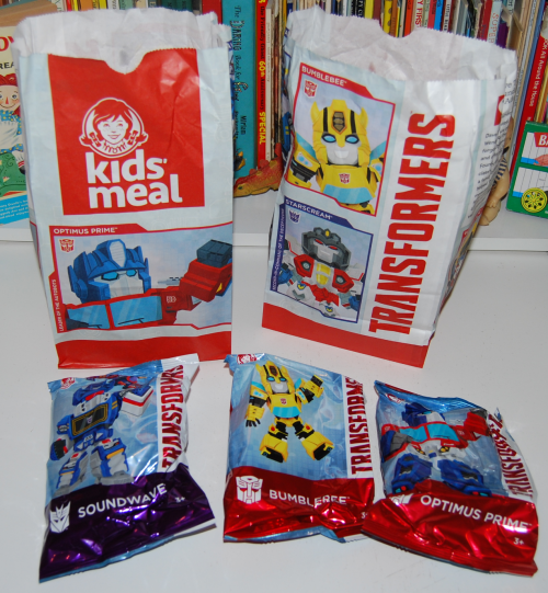 Wendy's transformers