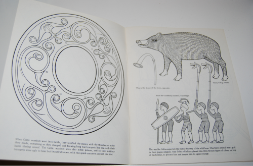 Ancient ireland coloring book 2