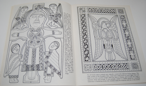 Ancient ireland coloring book 5