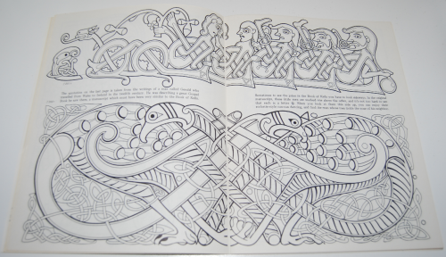 Ancient ireland coloring book 6