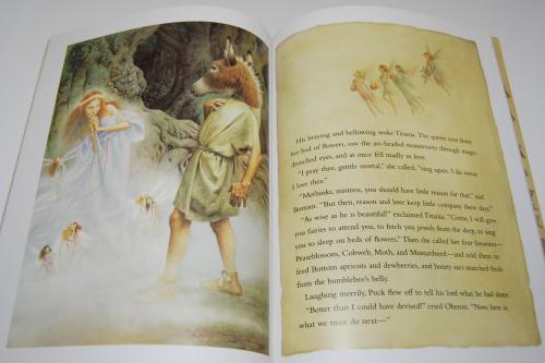 A midsummer night's dream kids book 5