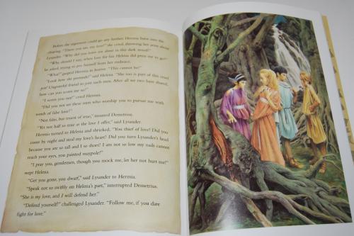 A midsummer night's dream kids book 6