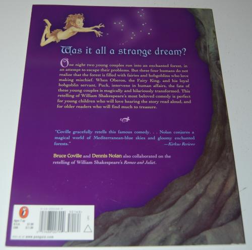 A midsummer night's dream kids book x