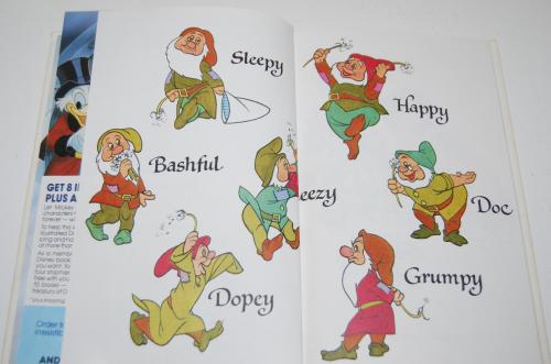 Disney snow white & the 7 dwarves 1