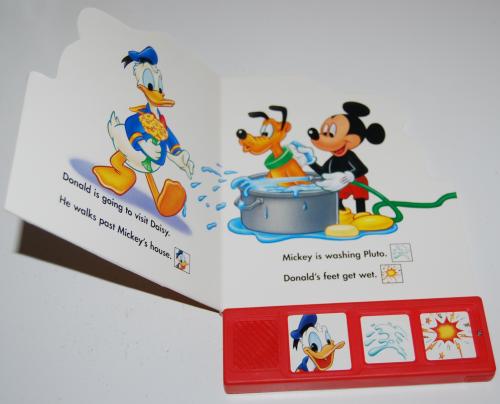 Donald duck sound book 1