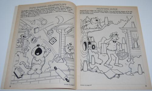 Heathcliff coloring book 4