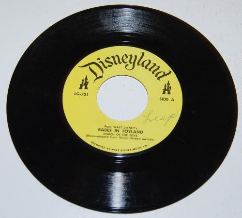 Disney toyland record 2