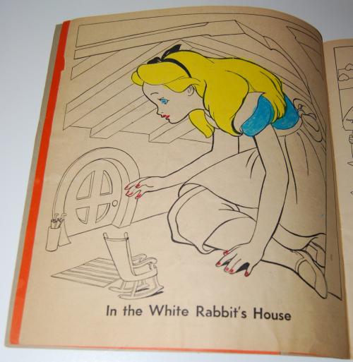 Alice in wonderland sticker fun book 2