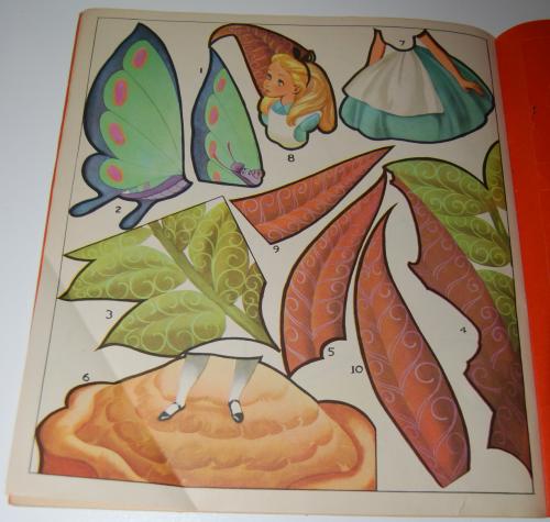 Alice in wonderland sticker fun book 8