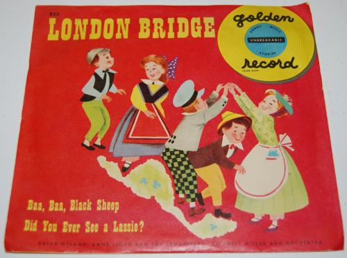 Vintage kids vinyl london bridge