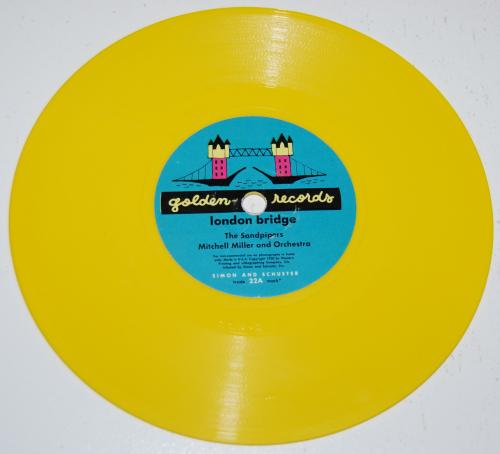 Vintage kids vinyl london bridge 1
