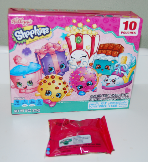 Shopkins fruit snacks x
