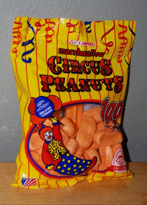 Circus peanuts x