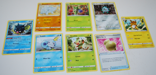 Pokemon sword & shield cards 4