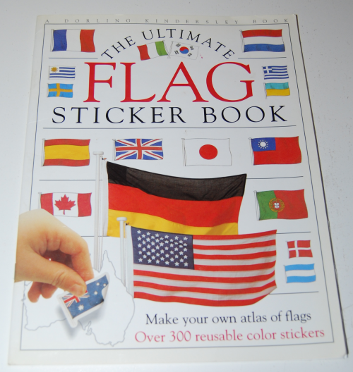Ultimate flag sticker book