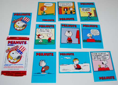 Peanuts cards x