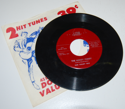 Vintage kids vinyl record x